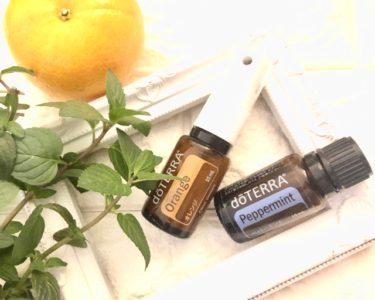 オレンジ精油の空き瓶を使って作る!さわやか制汗スプレー