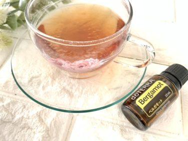 紅茶にベルガモット精油を入れると?簡単美味しいアールグレイティーの出来上がり!